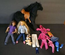 Lot Only Hearts Club Dolls Clothes Shoes Pets Dog Black Horse Poseable Cute