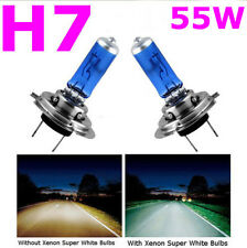 2 PCS H7 6000K Xenon Gas Halogen Headlight White Car Light Lamp Bulbs 55W 12V BG