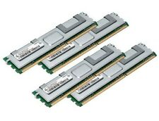 4x 4GB 16GB RAM 2Rx4 FB DIMM Speicher 667 Mhz ECC Fully Buffered DDR2 PC2-5300F