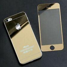 SY Back+Front Premium Tempered Glass Film Screen Protector For Apple iPhone 5S