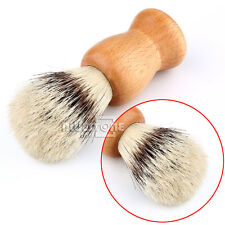 Mix BADGER Bristle Hair Daily Chrome Shaving Brush Razor Wood Handle For Shaving