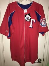 NWT MAJESTIC AUTHENTIC KINSLER #5 TEXAS RANGERS BASEBALL JERSEY L