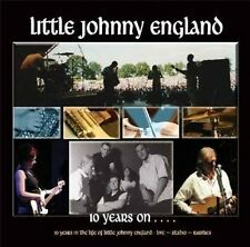 Little Johnny England 10 Years On 2-CD NEW SEALED Folk Live/Studio/Rarities