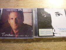 Michael Bolton [2 CD Alben] Timeless Classics Vol.2 + Greatest Hits 1985-1995