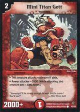 Duel Masters-Karte - Mini Titan Gett