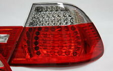 LED RÜCKLEUCHTEN HECKLEUCHTEN SET BMW E46 3er COUPE 99-03 ROT KLAR +LED BLINKER