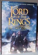 THE LORD OF THE RINGS THE TWO TOWERS Visual Companion 1st/1st HB Jude Fisher