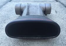 OE Genuine Porsche Cayman Boxster 981 2.7 Exhaust Tailpipe Tip in Matte Black