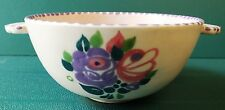 POOLE c1930's WINIFRED ROSE DECORATED BOWL . VGC.