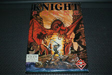 """Knight Force by Titus Vintage PC Game 5.25"""" Disks Complete in Box ULTRA RARE"""