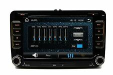 OE FITMENT AM/FM DVD MP3  AUX  SD GPS NAVIGATION WV VOLKSWAGEN EOS KOMPACT 07-12