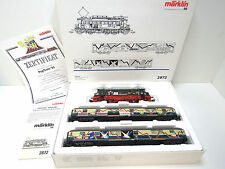 Personenzug Pop-Train, BR E 04 mit 2 Wagen,Märklin HO,2872,SoMo 1995,OVP,TOP,UW