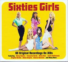 SIXTIES GIRLS - 60 ORIGINAL RECORDINGS - VARIOUS ARTISTS (NEW SEALED 3CD)