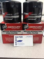 Mercury  Water Seperating Fuel Filter 35-802893T Outboard & Sterndrive 2 PACK