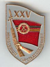 STASI MFS Abzeichen für 25 Jahre Staatssicherheit der DDR SELTEN