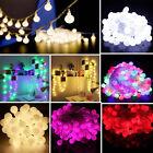 10M Kugel Schnur Licht 100 LED Hochzeit Weinachte Party Fairy Lichterkette Dekor