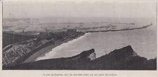 1909  --  LE PORT DE DOUVRES AVEC LES NOUVELLES JETEES    3I919