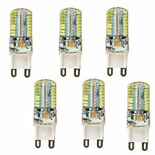 6Pcs 5W G9 3014SMD 64-LED Energy Saving White Light Bulb Spotlight Lamps 110V