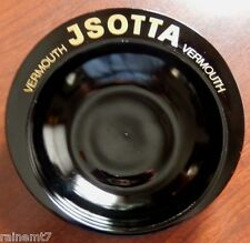 Jsotta Vermouth Ashtray~Very Rare~Very Cool~Very Black~Very Good Condition!