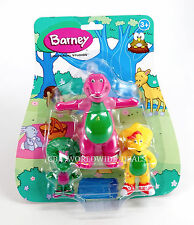 NEW Universal Studios Barney & Friends 3-Piece Figure Pack Playset BJ Baby Bop