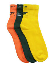 Premium Quality Sports Ankle Socks 3 pairs pack (Colored JK.)