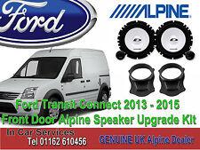 Ford Transit Conectar 2013-2015 Alpine Puerta Altavoz Tweeter actualización 280W