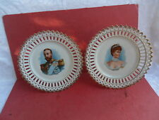King George V & Queen Mary, 1911, 2 x Commemorative Plates reduced!