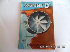 SYSTEME D N°173 MAI 1960 ASPIRATEUR DE BUEE PARC POUR BEBE TABLE PLIANTE    G64