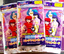 3 PACKS OF10 TAKAHASHI CARDS EPOCH RANMA 1/2 LUM IKKOKU