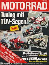 Motorrad 4 80 Eckert Honda Huber Bimota KB1 Reimo Suzuki Rickman TZ 750 1980