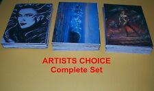 Artists Choice     Complete Trading Card Set    72 cards