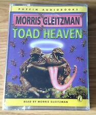 AUDIO BOOK: Morris Gleitzman - TOAD HEAVEN - on 2 x cass - PUFFIN AUDIO - NEW