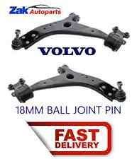 Volvo S40 V50 05-11 Front 2 Lower Wishbones/Suspension Arms Pair 18mm NEW