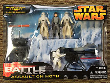 NEW Star Wars Revenge of the Sith Battle pack Assault On Hoth figures 5 pack NIP