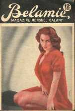 BELAMIE 1960s sexy Revue Magazine curiosa Pinup lingerie glamour cheesecake