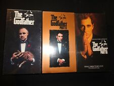 The Godfather Collection (Vhs, 1992, 6-Tape Set) Brand New