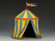 King & Country (retired) - MK074 - Tente médiéval pour chevalier (medieval tent)