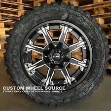 """20"""" DW920 Wheels with 33X12.50R20 or 35X12.50R20 Federal Off Road Tires Rims"""