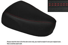 GRIP VINYL RED DS STITCHING CUSTOM FITS SUZUKI LOVE CL 50 FRONT SEAT COVER