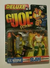 "Kenner G.I. Joe Extreme Deluxe LT Stone With Ultra Slam Firepower 4"" Inch BNIP"
