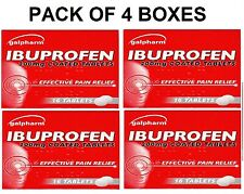 IBUPROFEN 200MG TABLETS - PAIN RELIEF - MIGRAINE - RHEUMATIC & MUSCULAR PAIN