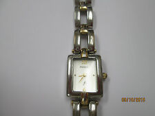 Fossil Silver and Gold Watch with White Face ES-8924