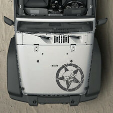 Distressed Army Star Graphic Decal Renegade Side Hood Jeep Vinyl Wrangler Skull
