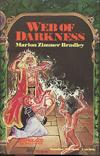 Web of Darkness by Marion Zimmer Bradley-Donning Starblaze Edition-1983