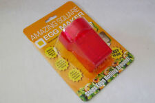NEW AMAZING SQUARE EGG MAKER CUBER MAKE CUBE BOILED EGGS! PMS RED