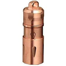 JetBeam Mini-1 Keychain Flashlight Copper 130 Lumen 10180 Micro Rechargeable