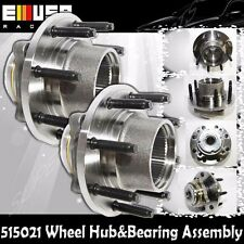 1PAIR FRONT Wheel Hub&Bearing 00-04 Ford F250/350 Super Duty SRW 4WD w/REAR ABS