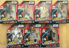 Wave 1 Star Wars Hero Mashers Darth Vader Bossk Anakin Fisto Jar Stormtrooper +1