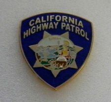 California Highway Patrol PATCH LAPEL PIN (state police CA) CHP