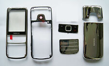 Silver Housing facia faceplate Cover Case Fascia Nokia 6700 Classic 6700C